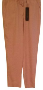 Jenni Kayne New With Tag Silk Trouser Pants Pink