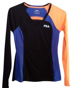 Fila Fila Long Sleeve V-Neck Top