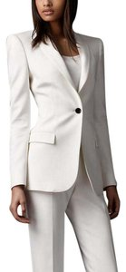 Burberry White Burberry Pantsuit