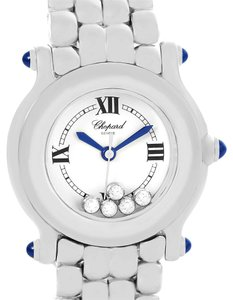 Chopard Chopard Happy Sport 5 Floating Diamonds Steel Ladies Watch 27-8250