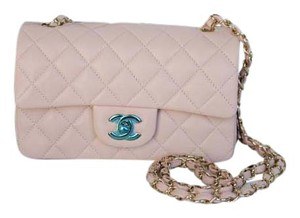 Chanel Lambskin Cross Body Bag