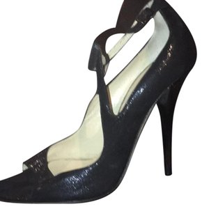 Jimmy Choo black shiny Formal