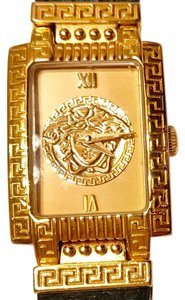 Versace Vintage GIANNI VERSACE Gold Plated Medusa Watch