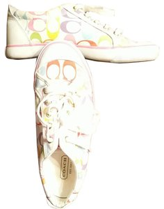 Coach Color Size 9 New Pastels and white Athletic