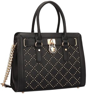 Classic Vintage Satchel in Black