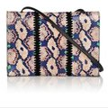 Proenza Schouler Luxury Made In Italy Snakeskin Leather New York Shoulder Bag Image 2