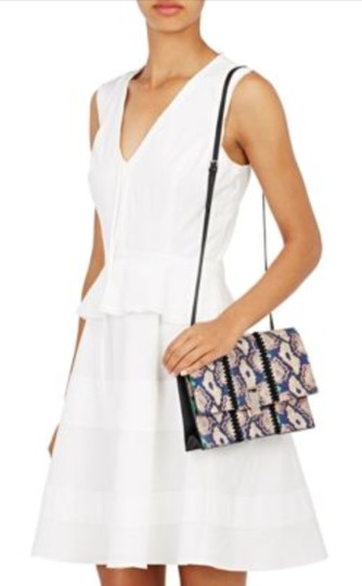 Proenza Schouler Luxury Made In Italy Snakeskin Leather New York Shoulder Bag Image 4