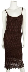 Ralph Lauren Silk Crotched Knit Dress