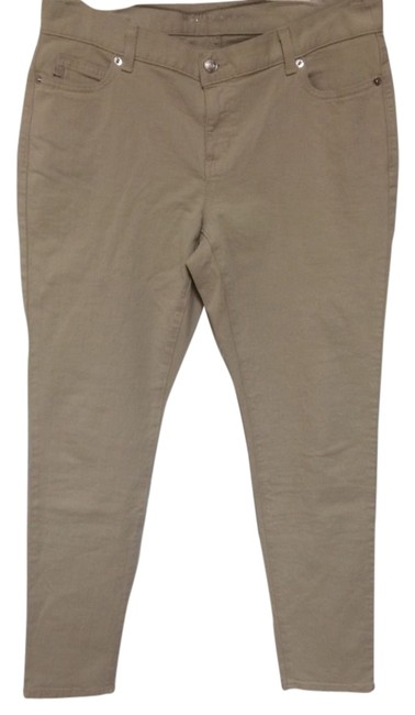 Michael Kors By In Camel Skinny Jeans-Light Wash
