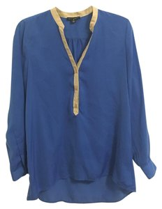 Willi Smith Top Cobalt Blue