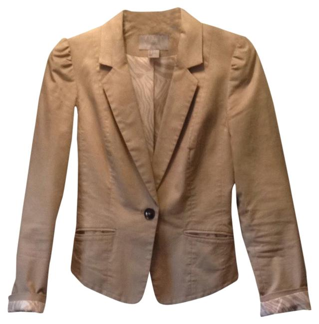 Preload https://item5.tradesy.com/images/h-and-m-beige-blazer-size-4-s-2034544-0-0.jpg?width=400&height=650