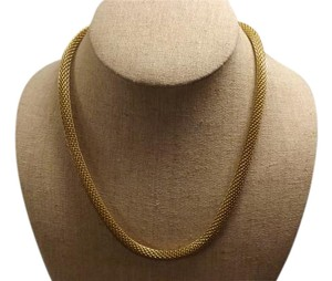 Vintage Mesh Necklace Vintage Gold-Tone Mesh Necklace