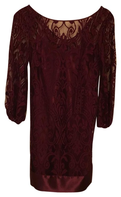 Preload https://img-static.tradesy.com/item/20345632/laundry-by-shelli-segal-plum-lace-long-sleeve-above-knee-cocktail-dress-size-6-s-0-1-650-650.jpg