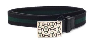 Gucci Men's Web & Leather Strap