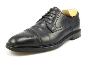 Gucci Men's Leather Cap Toe Oxfords