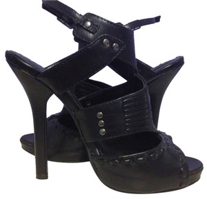 Paprika Pumps Platform Gladiator Summer Open Toe Delicious Leather Leatherette Studs Studded Sexy Heels Peep Toe Prom High Free Black Sandals