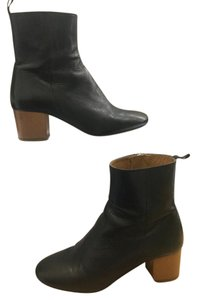 Isabel Marant Leather French Style Chic Black Boots