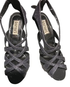 Badgley Mischka Charcoal grey Sandals