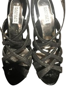 Badgley Mischka Junebug Black Platforms