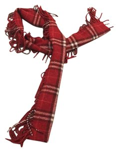 Burberry Classic Burberry red scarf