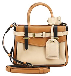 Reed Krakoff Satchel in Tan Black