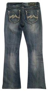 Miss Me Boot Cut Jeans-Light Wash