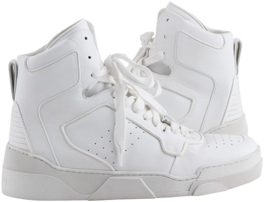Givenchy White Tyson Leather High-top