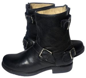 Frye 76603 Veronica Size 6 Motorcycle Women Size 6 Black Boots
