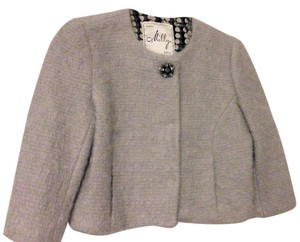MILLY Retro 60's Crystal Mohair Cropped Jacket