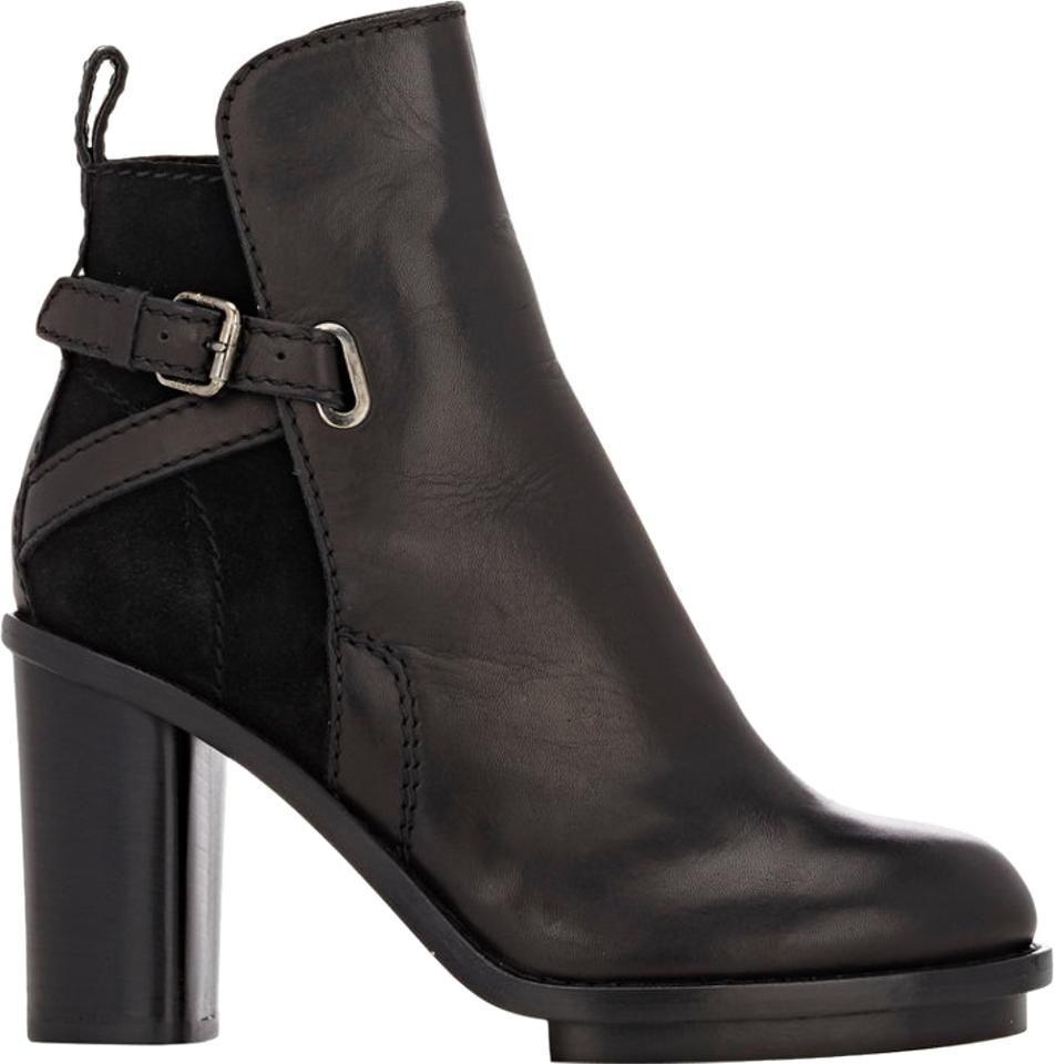 Acne Studios Black Cypress Leather Suede Cypress Black Msrp Boots/Booties dc26fd