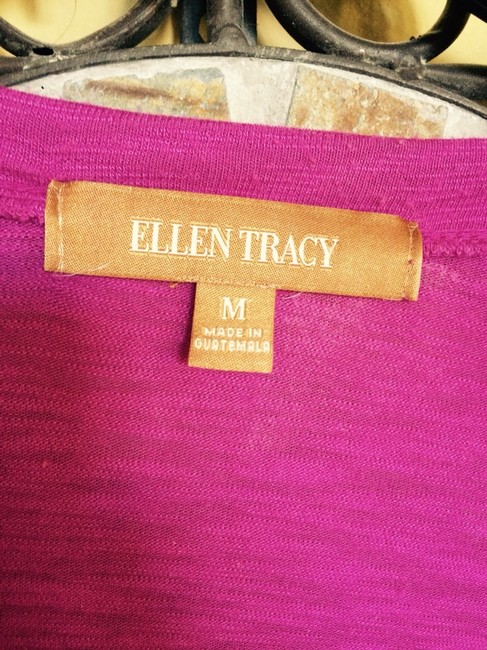 Ellen Tracy Top Fuschia