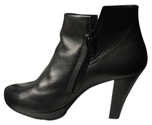 Paul Green Alexa Leather Black Boots