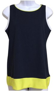 Ann Taylor Sleeveless Top Multi-Color