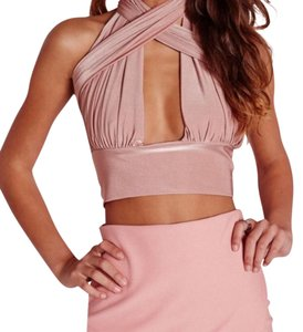 Missguided Top Pink/Rose