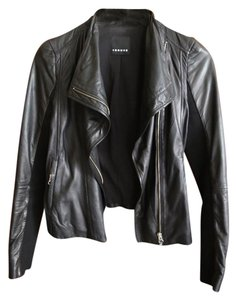 Trouv Moto Leather Leather Leather Jacket