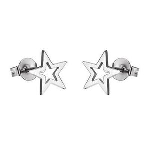 Other Texas Star Stainless Steel Earrings 14k Gold Finish Studs