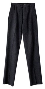 DKNY Wool Long Tall Trouser Pants Blue