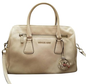 Michael Kors Satchel in Optic White