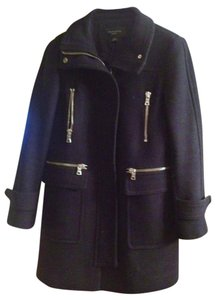 Ann Taylor Jacket Gold Work Pea Coat