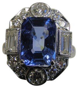 Other GIA CERTIFIED 5.15 carat Sri Lanka no heat blue sapphire