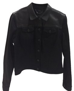 Burberry Brit Black Womens Jean Jacket