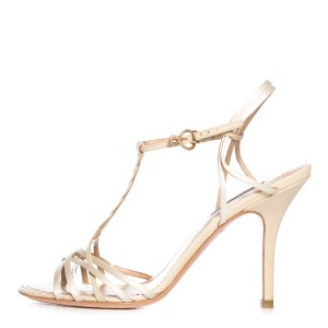 Louis Vuitton Ivory Sandals