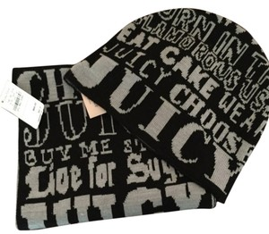 Juicy Couture Juicy Couture signature hat and scarf set