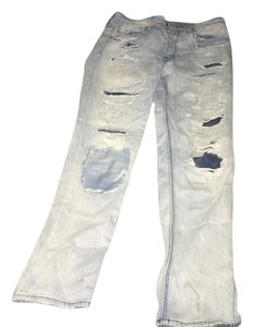 American Eagle Outfitters Tom Girl Boyfriend Cut Jeans-Distressed
