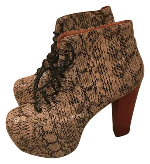 jeffrey campbell lita in python boots on sale 54 off boots booties on sale. Black Bedroom Furniture Sets. Home Design Ideas