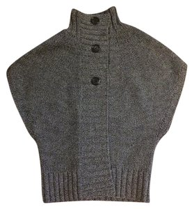 Theory Chunky Knit Vest Casual Wool Sweater