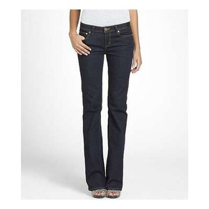 Tory Burch Size 25 Boot Cut Jeans-Dark Rinse