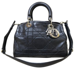 Dior Granville Polochon Satchel in black