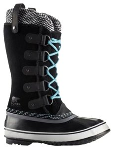 Sorel Turquoise And Black Boots