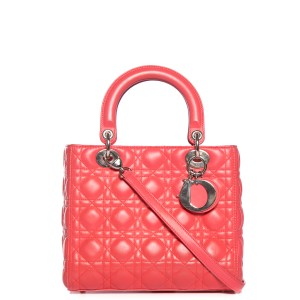 Dior Satchel in Coral/Pink